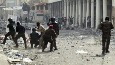 Photo of Mueren 20 manifestantes en Irak antes de la votación del gabinete