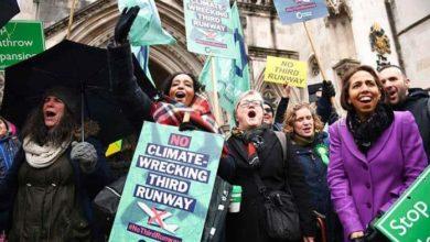 Photo of Activista en Londres impide la ampliación de aeropuerto