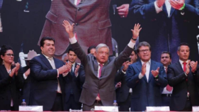 Photo of Asiste AMLO a aniversario de la CATEM