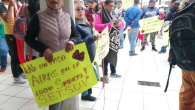 Photo of Trabajadores del SETSUV le exigen 20% de incremento a Sara Ladrón