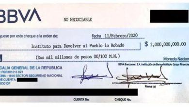 Photo of Senadora panista pide investigar al Fiscal por cheque sospechoso
