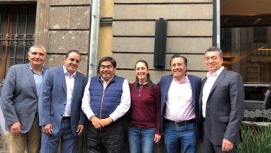 Photo of Sheinbaum cierra filas con gobernadores para apoyar políticas de AMLO