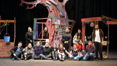"""Photo of Sala llena en función inaugural de la obra """"Mujer Raíz"""" en el Teatro del Estado"""