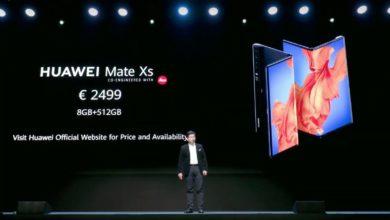 Photo of Huawei presenta MateXs en medio de la crisis del Covid-19