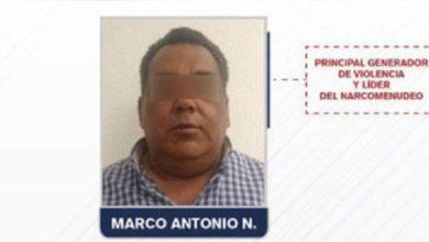 """Photo of Cae """"El Negro"""" líder principal de narcomenudeo en Puebla"""