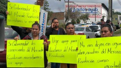 Photo of Locatarios del mercado Revolución exigen apoyo tras incendio