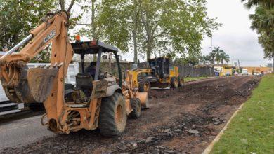 Photo of Continúan trabajos de reencarpetado en Xalapa