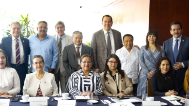Photo of Legisladores Veracruzanos se reúnen en el Senado de la República