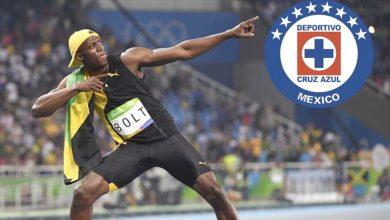 Photo of Usain Bolt mostró su 'afición' por Cruz Azul