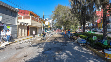 Photo of Avanza rehabilitación de la calle Miguel Hidalgo