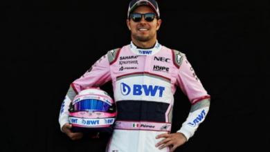 """Photo of """"Checo"""" Pérez domina el test matutino de la F1"""