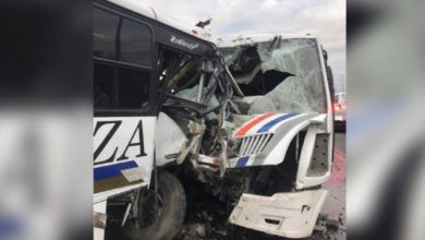 Photo of Choque de camiones deja 18 lesionados en Monterrey