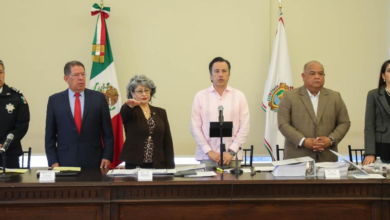 Photo of Magistrada presidente rinde protesta en el Consejo Estatal de Seguridad Pública