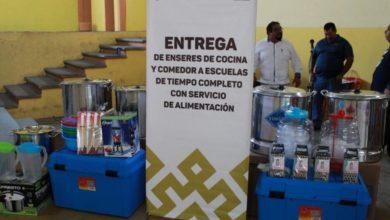 Photo of Reciben 26 Escuelas de Tiempo Completo enseres