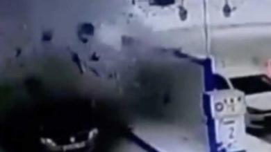 Photo of Video: Explota auto en gasolinera