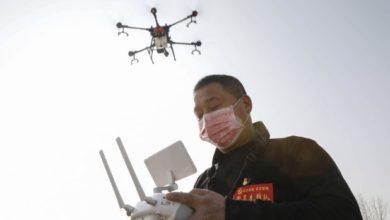 Photo of Así regañan los drones chinos por Coronavirus