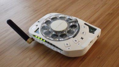 Photo of Crea su propio celular retro con dial giratorio que solo sirve para hacer llamadas