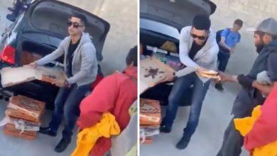 Photo of Joven reparte pizzas a personas necesitadas en Tijuana y se vuelve viral