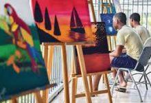 Photo of Reclusos exhiben sus pinturas en Faro de Tláhuac