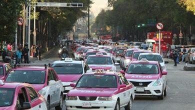 Photo of Taxistas vuelven a bloquear CDMX en protesta hacia aplicaciones de transporte