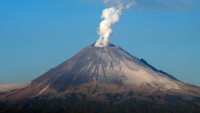 Photo of Popocatépetl emite 147 exhalaciones