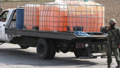 Photo of Aseguran más de mil 500 litros de gasolina sobre la Tuxpan-Azcapotzalco