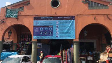 Photo of Restringen acceso a mercado de Coatepec por coronavirus