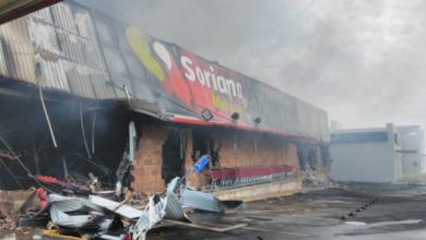 Photo of Reportan incendio en plaza comercial de Acayucan, Veracruz