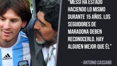 Photo of Cassano considera a Messi mejor que Maradona y Ronaldo