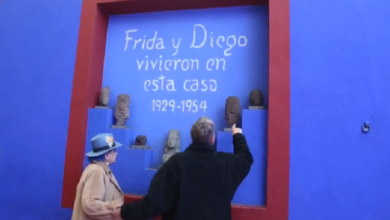 Photo of Video: Miguel Bosé despide a su mamá en la Casa Azul de Frida Kahlo