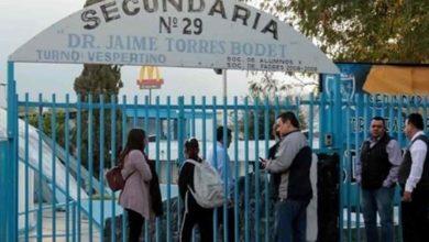 Photo of Amenazan secundaria de Monterrey con tiroteo