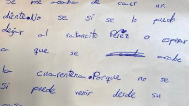 """Photo of """"¿El Ratón de los dientes trabaja en cuarentena?"""""""