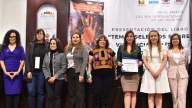 Photo of Presentan en Legisver libro Temas selectos sobre violencia política de género