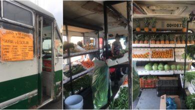 Photo of Microbús se convierte en verdulería ambulante en Xochimilco