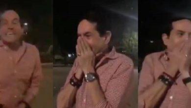 Photo of Pepillo Origel llora por ser testigo de una balacera