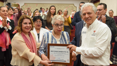 Photo of Elia Coronel, ciudadana distinguida de Xalapa