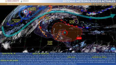 Photo of Nublados e intervalos de chubascos y descargas eléctricas en Veracruz