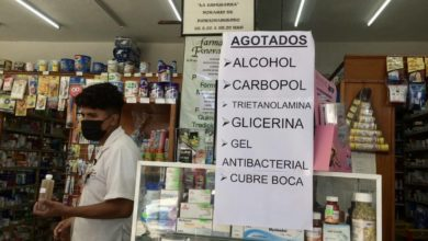 Photo of Farmacias y droguerías de Xalapa se quedan sin alcohol etílico