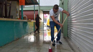 Photo of Realizan jornada de limpieza  en el mercado Rendón