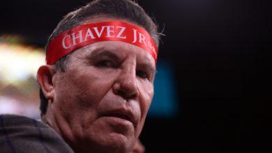 """Photo of Julio César Chávez: """"Vamos a chin… al coronavirus haciendo ejercicio"""""""