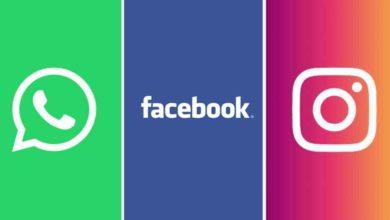 Photo of Reportan fallas en servicio de Facebook, Instagram y WhatsApp