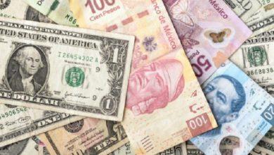 Photo of Sufre peso depreciación semanal de 1.41 pesos ante dólar