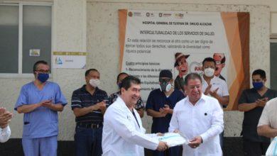 Photo of Diputado Manuel Pozos entrega apoyo a personal médico de Tuxpan