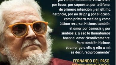 Photo of A 85 años del natalicio de Fernando del Paso