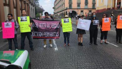 Photo of Reporteros exigen justicia para María Elena en Xalapa