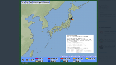 Photo of Japón advierte de posible Tsunami