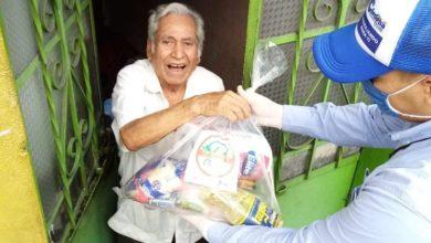 Photo of Ante la contingencia familias  reciben apoyos alimenticios