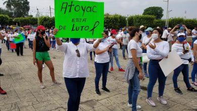 Photo of Habitantes de Atoyac se manifiestan ante el ecocidio que se vive