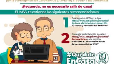 Photo of Pensionados del IMSS pueden presentar declaración por medios digitales
