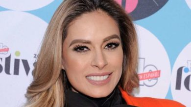 Photo of Galilea Montijo presume corte de cabello con mini vestido rosa